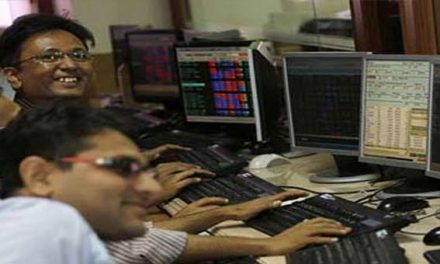 Sensex up 172 points; Axis Bank, HDFC stocks spurt