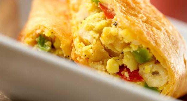 Masala omlette for breakfast