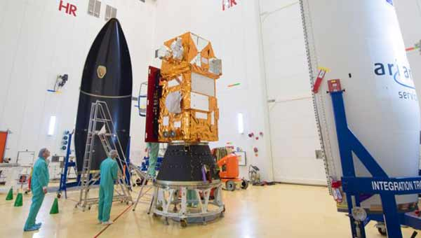 Sentinel satellite launched to picture Planet Earth