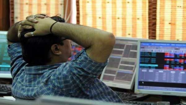 Sensex down 49 points