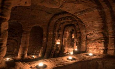 Rabbit hole leads to 'Knights Templar' cave