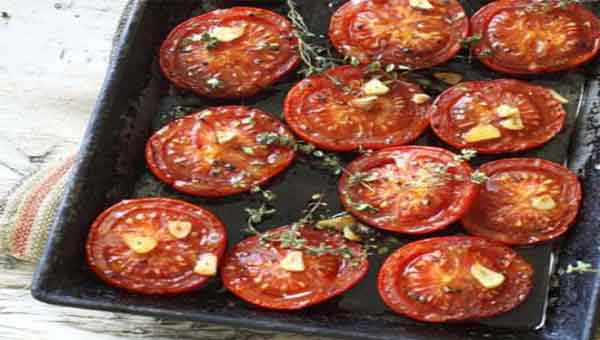 Roast tomatoes, a deep flavored recipe