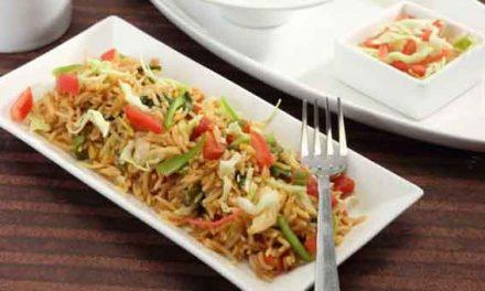 Vegetable biryani, a classic dish