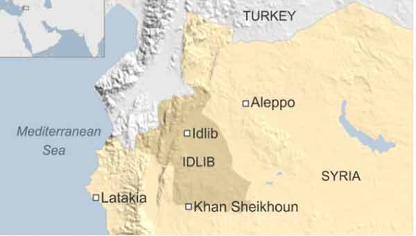 Deadly 'chemical attack' in Syria's Idlib kills 18