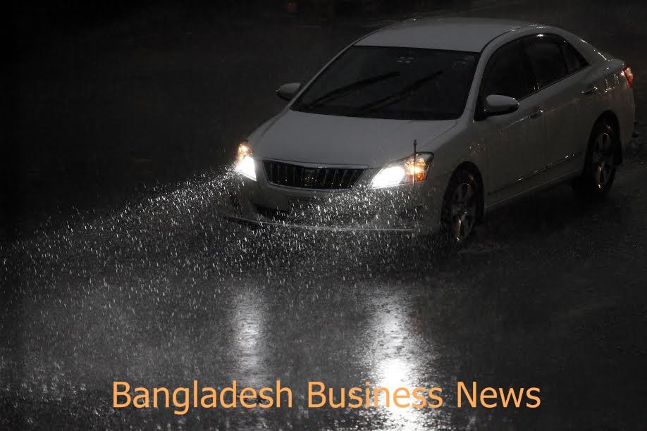 Rain in Dhaka 1
