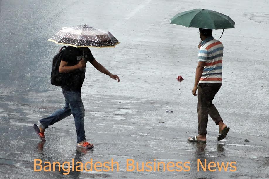 Rain in Dhaka 4