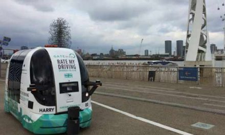 UK public to test driverless shuttle