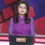 TV anchor reads out news of her husband's death in car accident