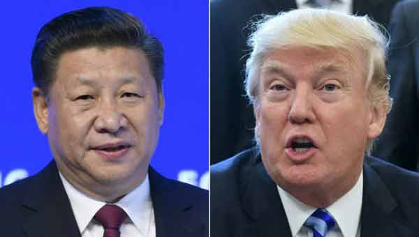 Trump strikes warmer tone with China