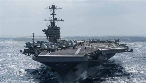 US deploys warships to Korean peninsula