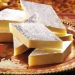 Kaju burfi, a tasty dessert