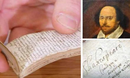 Shakespearean notepad stuns Antiques Roadshow expert