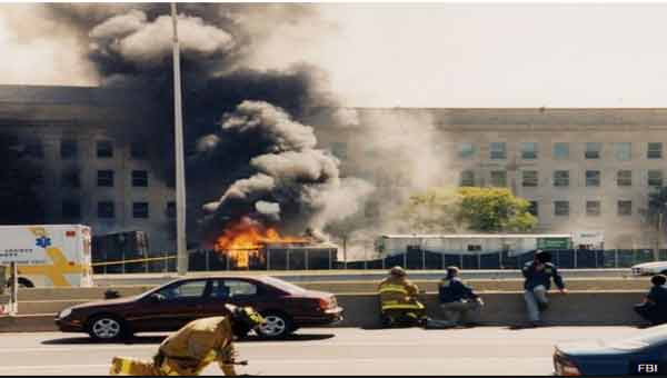 FBI re-releases 9/11 photos of Pentagon