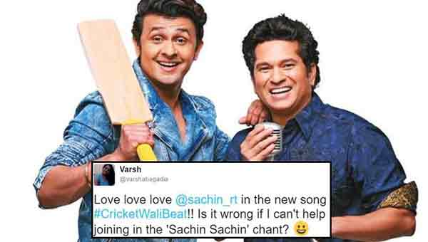 Sachin Tendulkar makes singing debut with Sonu Nigam