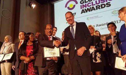 Bangladesh wins Global Inclusion Awards 2017