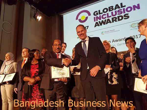 Bangladesh wins Global Inclusion Awards 2017