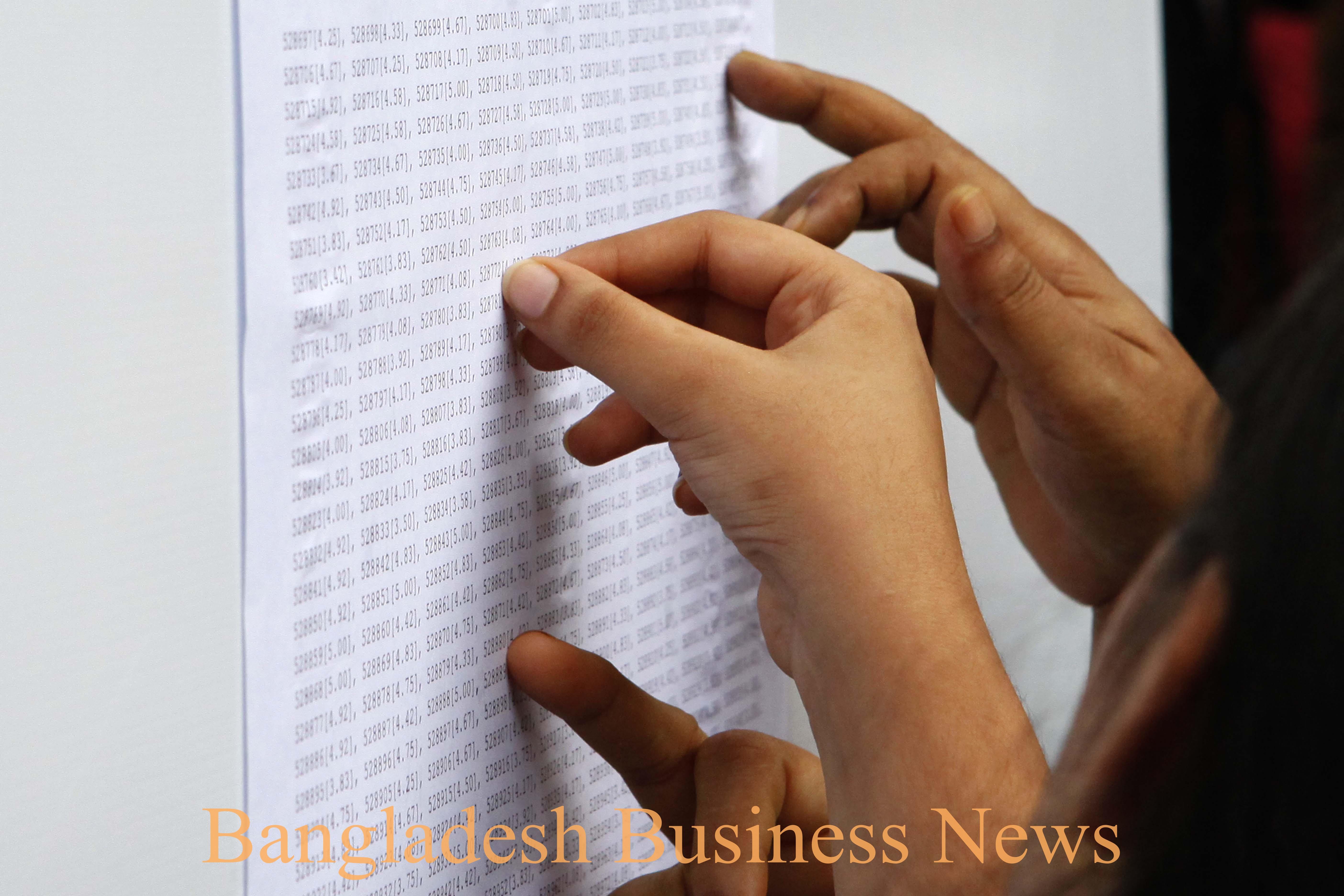 HSC result in Bangladesh 1