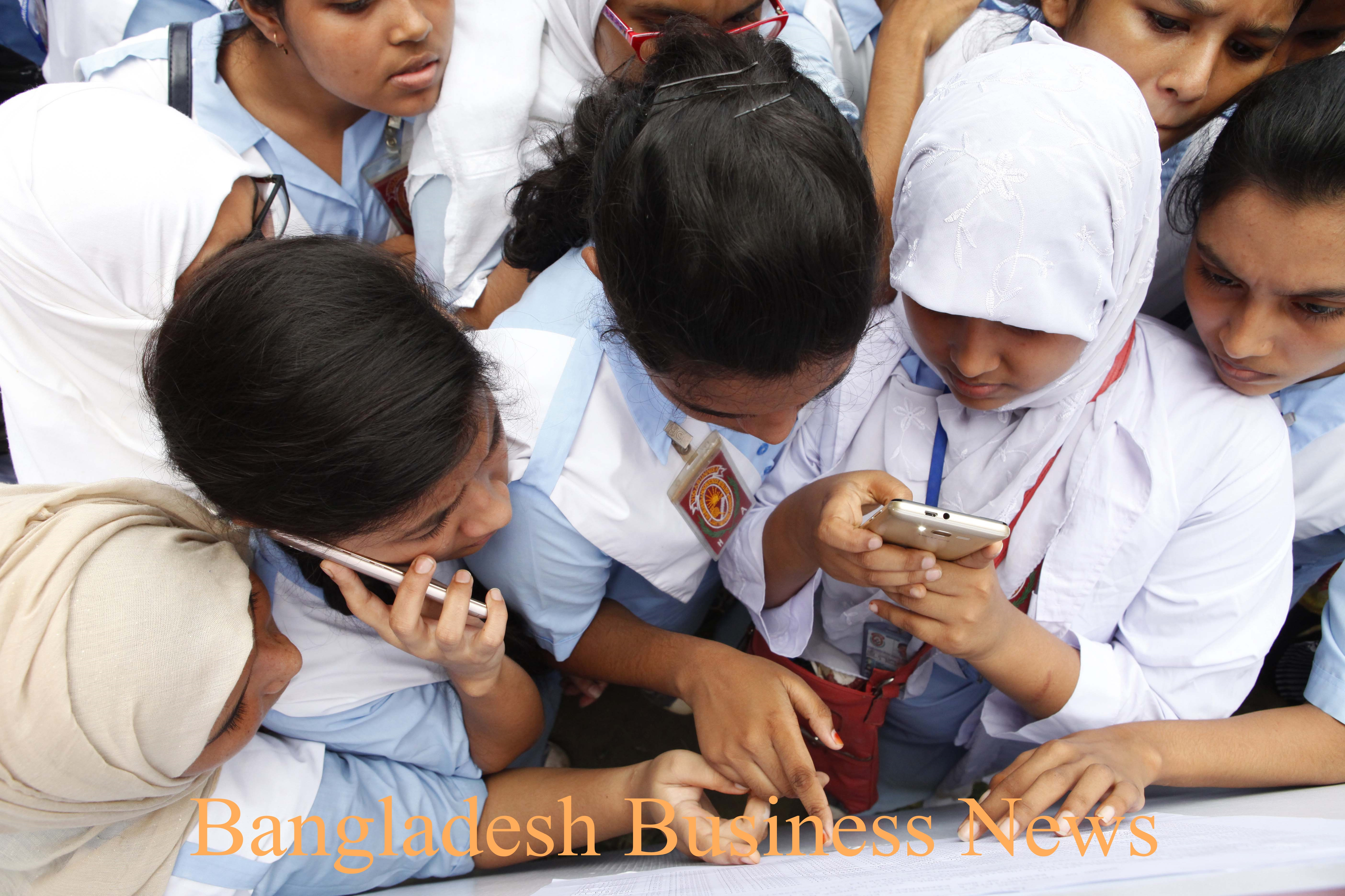 HSC result in Bangladesh
