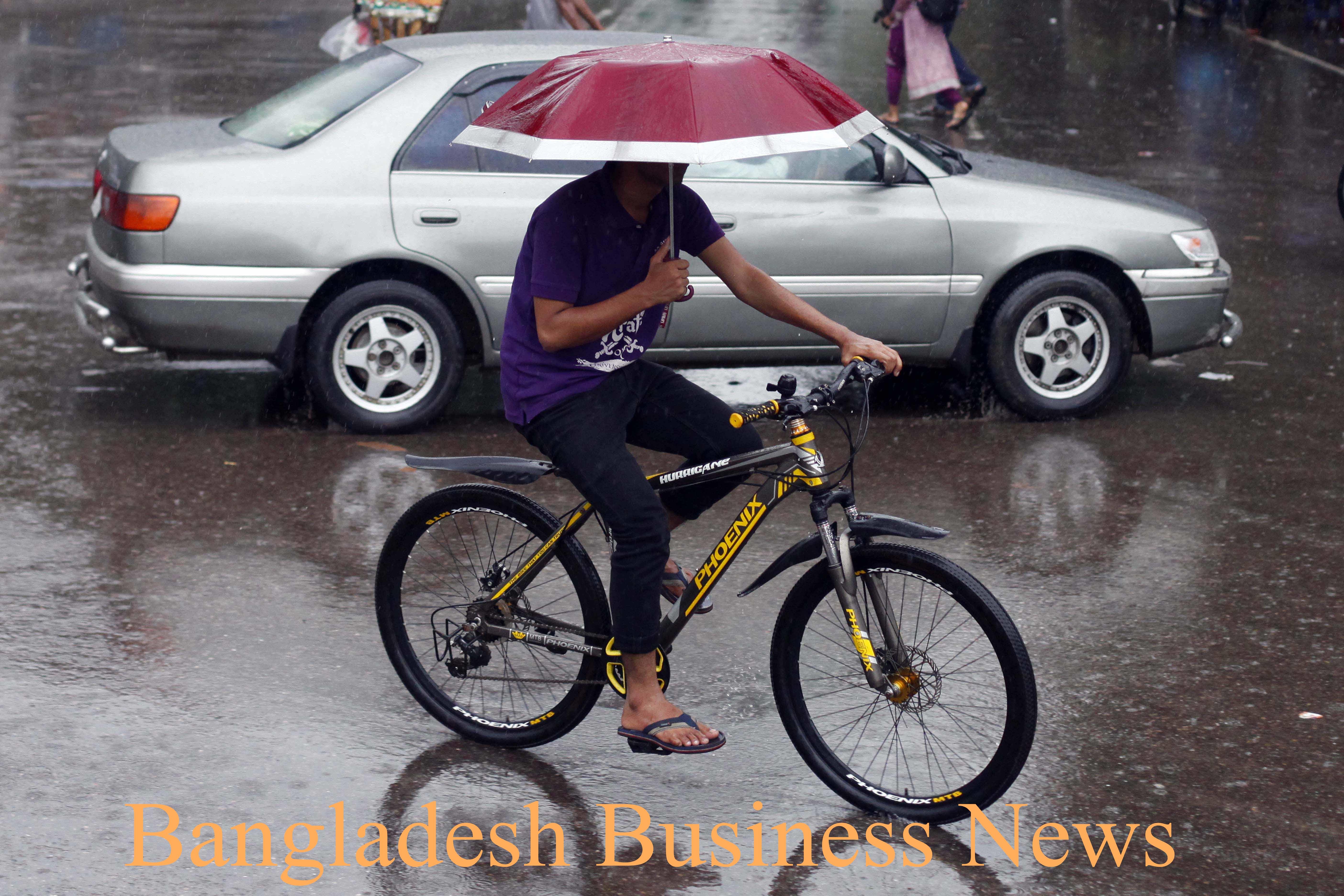 Rain in DU campus 2