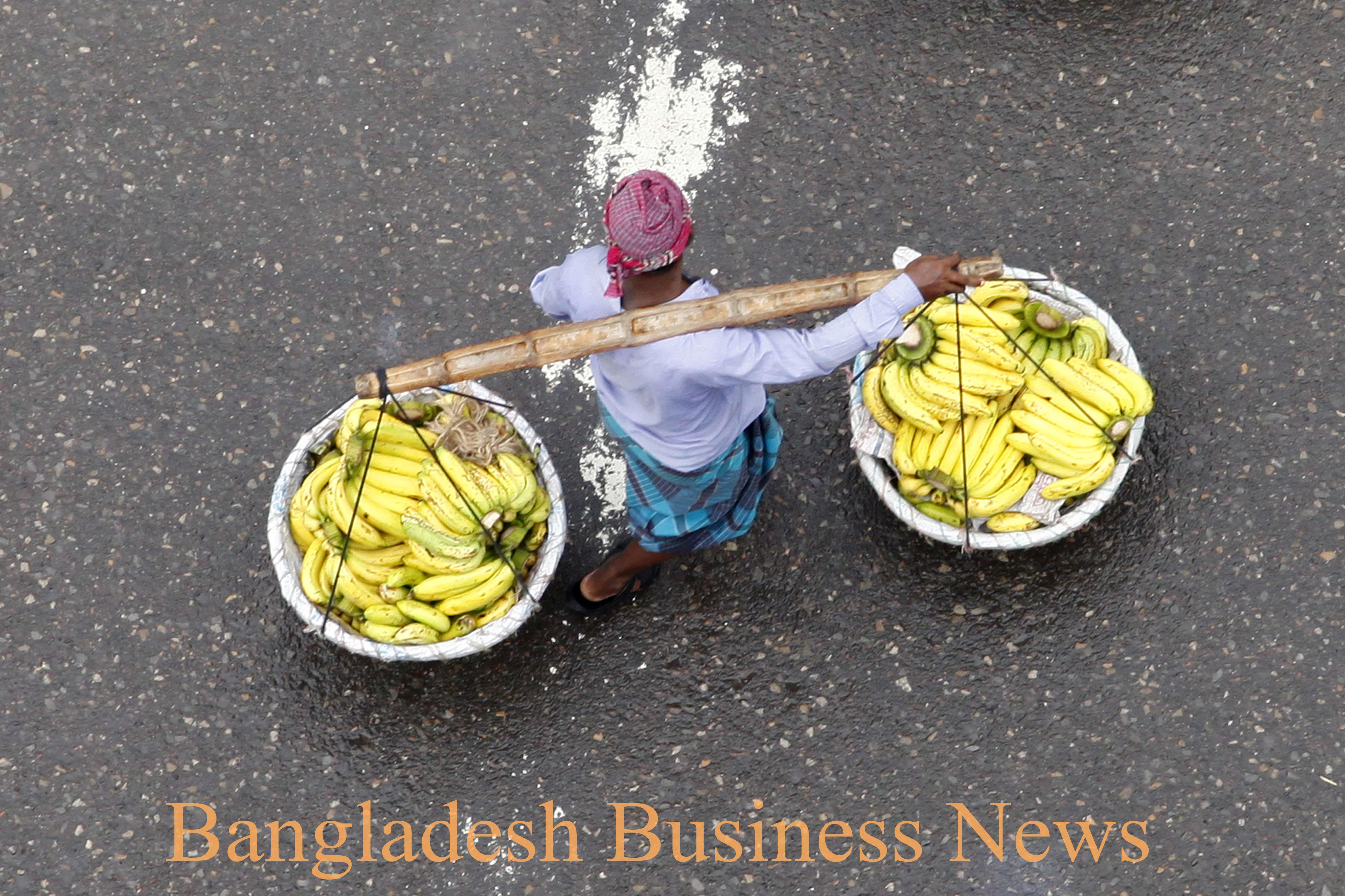 Vendor after rain