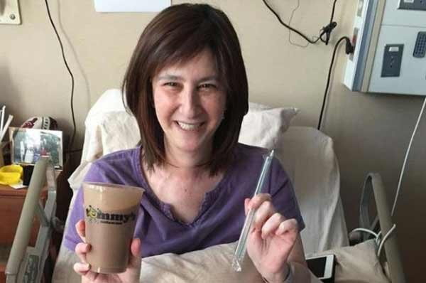 Milkshake shipped across US to grant dying woman's wish