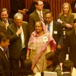 Hasina in UN 1