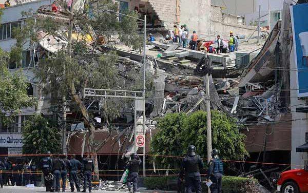 7.1 magnitude earthquake kills nearly 250 in Mexico
