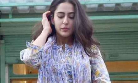 Sara Ali Khan starts her journey in Bollywood