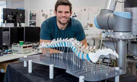 3D vertebrate allows surgeons to practice spinal operations