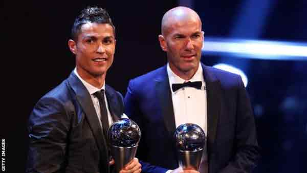 Ronaldo wins Fifa best male player award