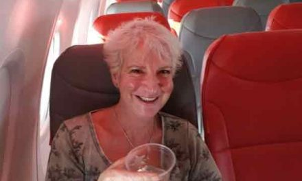 Woman is only passenger on holiday jet