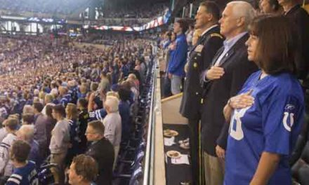 Mike Pence leaves NFL game over protests