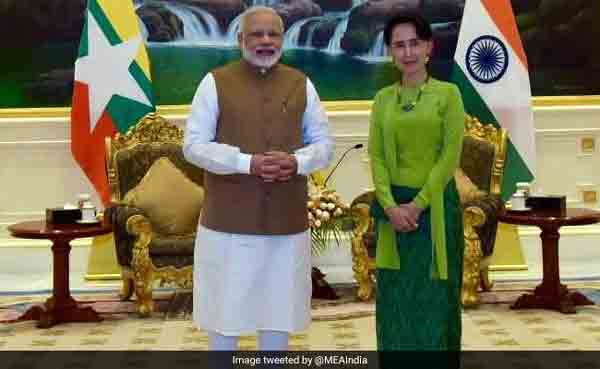 Don't destroy your image, Modi to Suu Kyi