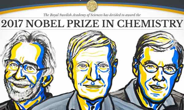 Nobel in chemistry for method to visualise biomolecules