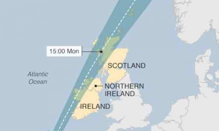 'Danger to life' warning as storm heads to UK and Ireland