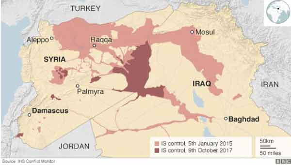 US-backed forces 'fully control' Raqqa