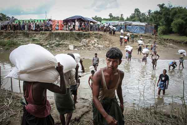 Rohingya Muslims are not native, says Myanmar army chief