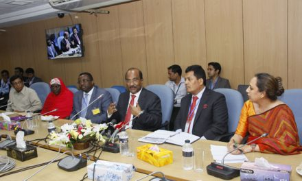 Central bankers of Ghana, Nepal, Nigeria in Bangladesh