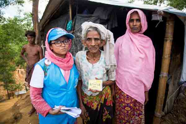 Family count gives shape to Rohingya population in Bangladesh