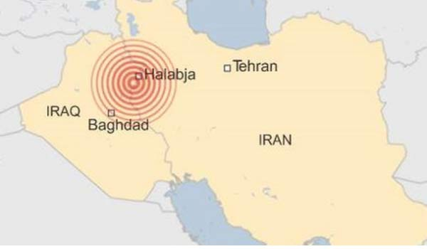 335 people dead in Iran-Iraq earthquake