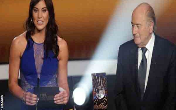 Solo accuses Blatter of sexual harassment