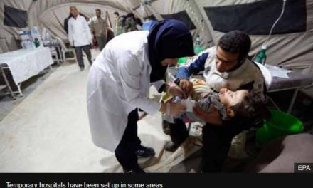 Thousands seek shelter after Iran quake, killed 430