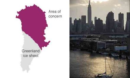 Which cities will flood as ice melts?