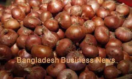 Onion prices down slightly in Dhaka