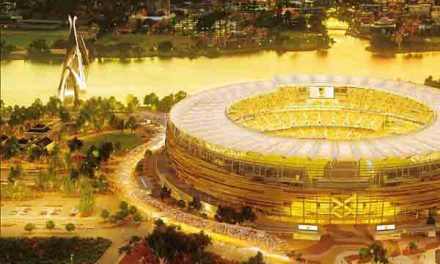 New 60,000-seater Perth Stadium will open in January