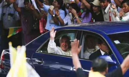 Pope set for key Myanmar speech