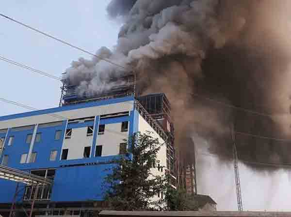 India power plant blast kills 22