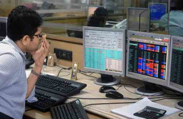 Sensex ends marginally up
