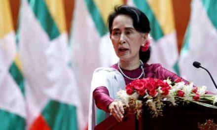 Suu Kyi stripped of Freedom of Dublin City award