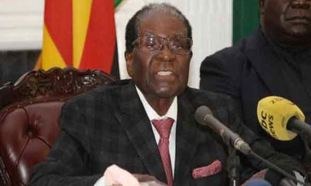 Mugabe must quit now – ex-vice-president